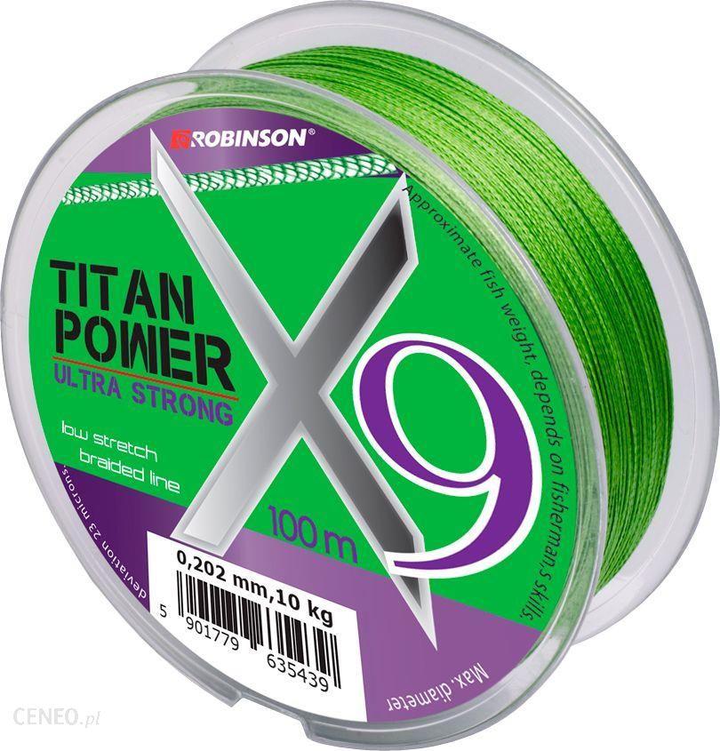 Robinson Plecionka Titan Power X9 100m 0.18
