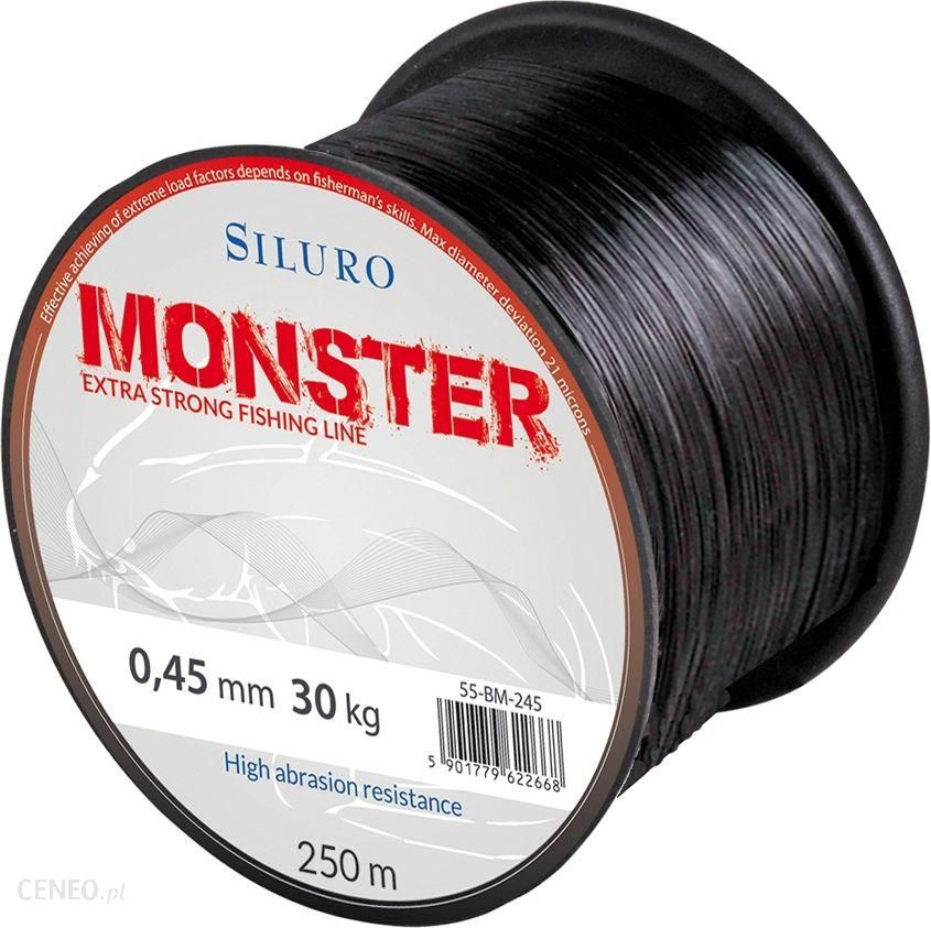 Robinson Żyłka Siluro Monster 0.45mm 250m czarna (55bm245)