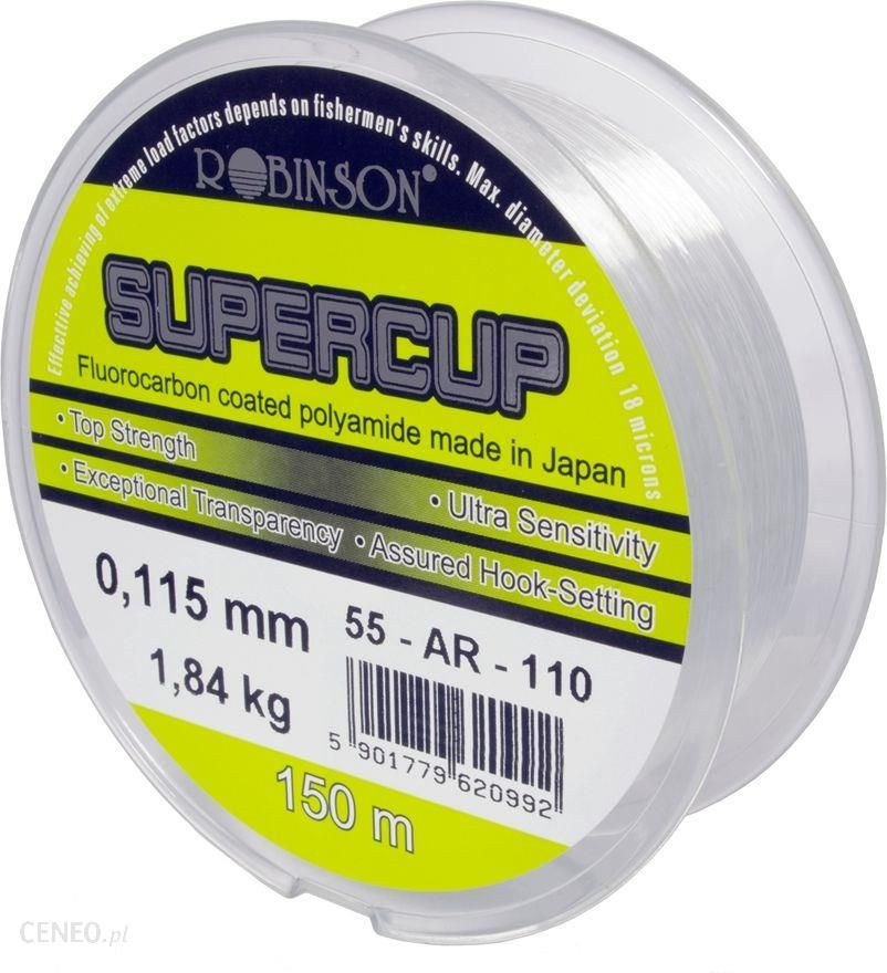 Robinson Żyłka Supercup 0.147mm 150m (55ar147)
