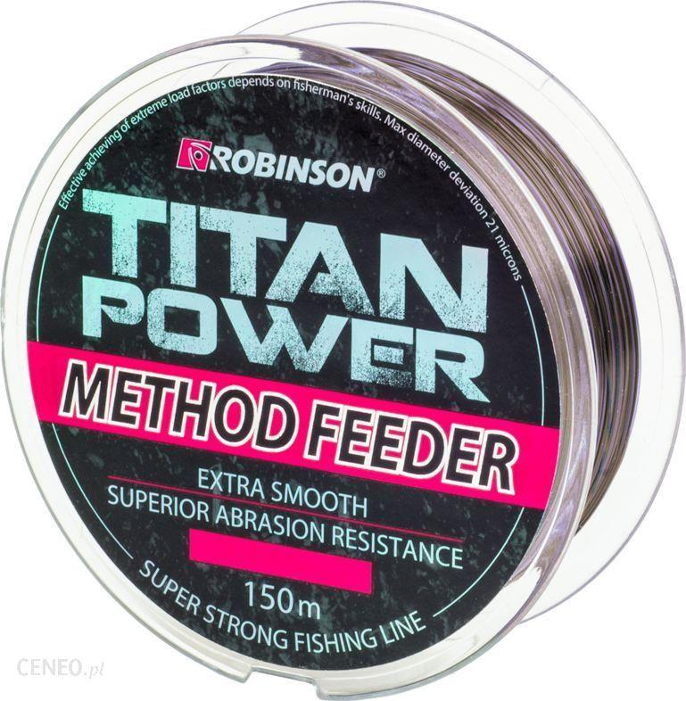 Robinson Żyłka Titan Power Method Feeder 150M 0.235Mm