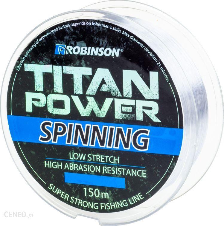 Robinson Żyłka Titan Power Spinning 150M 0.235Mm