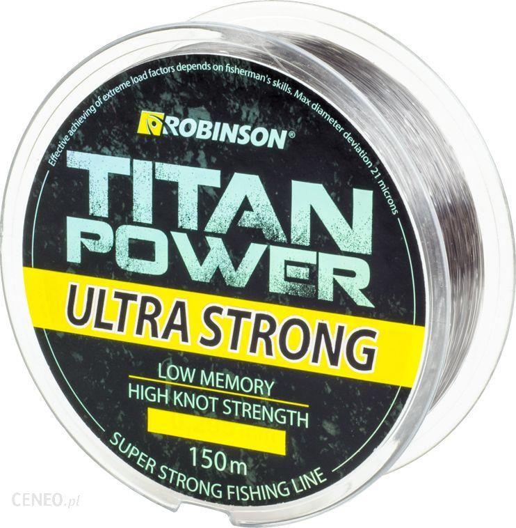 Robinson Żyłka Titan Power Ultra Strong 150M 0.195Mm