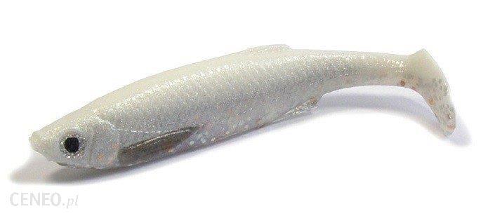 Savage Gear Bleak Paddletail 8Cm4G White/Silver