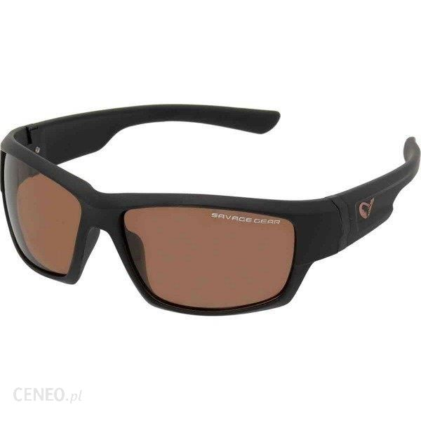 Savage Gear Okulary Shades Floating Polarized Sunglasses Amber (Sun And Cl