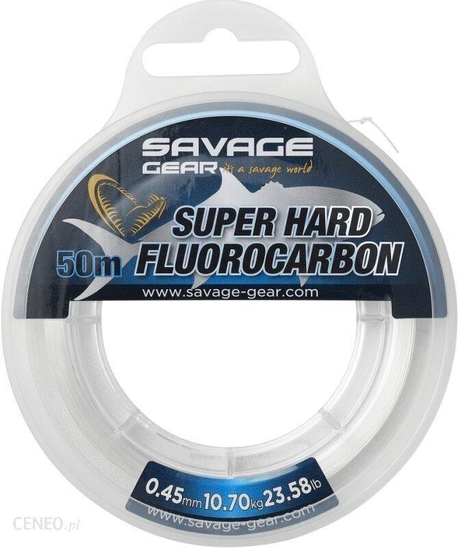 Savage Gear Super Hard Fluorocarbon 50M 0.60Mm 18.90Kg 41.66Lb Clear