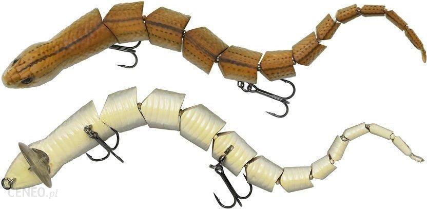 SG 3D Snake 20cm 25g Floating 04-Steel Adder (62010)