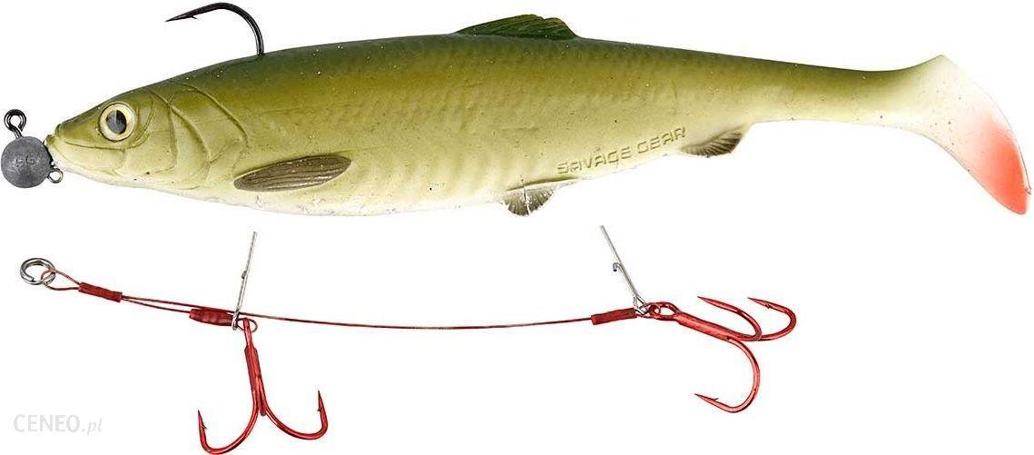 SG Carbon49 Double Stinger #3/0 15cm 23kg 2szt