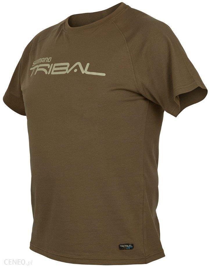 Shimano Koszulka T-Shirt Tribal Tactical Xl Zielona
