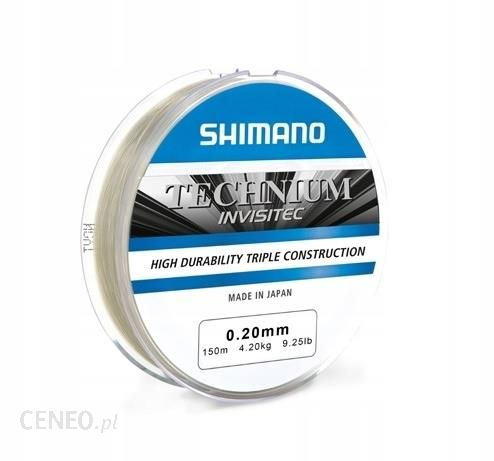 Shimano Żyłka Technium Invisitec Szara 0