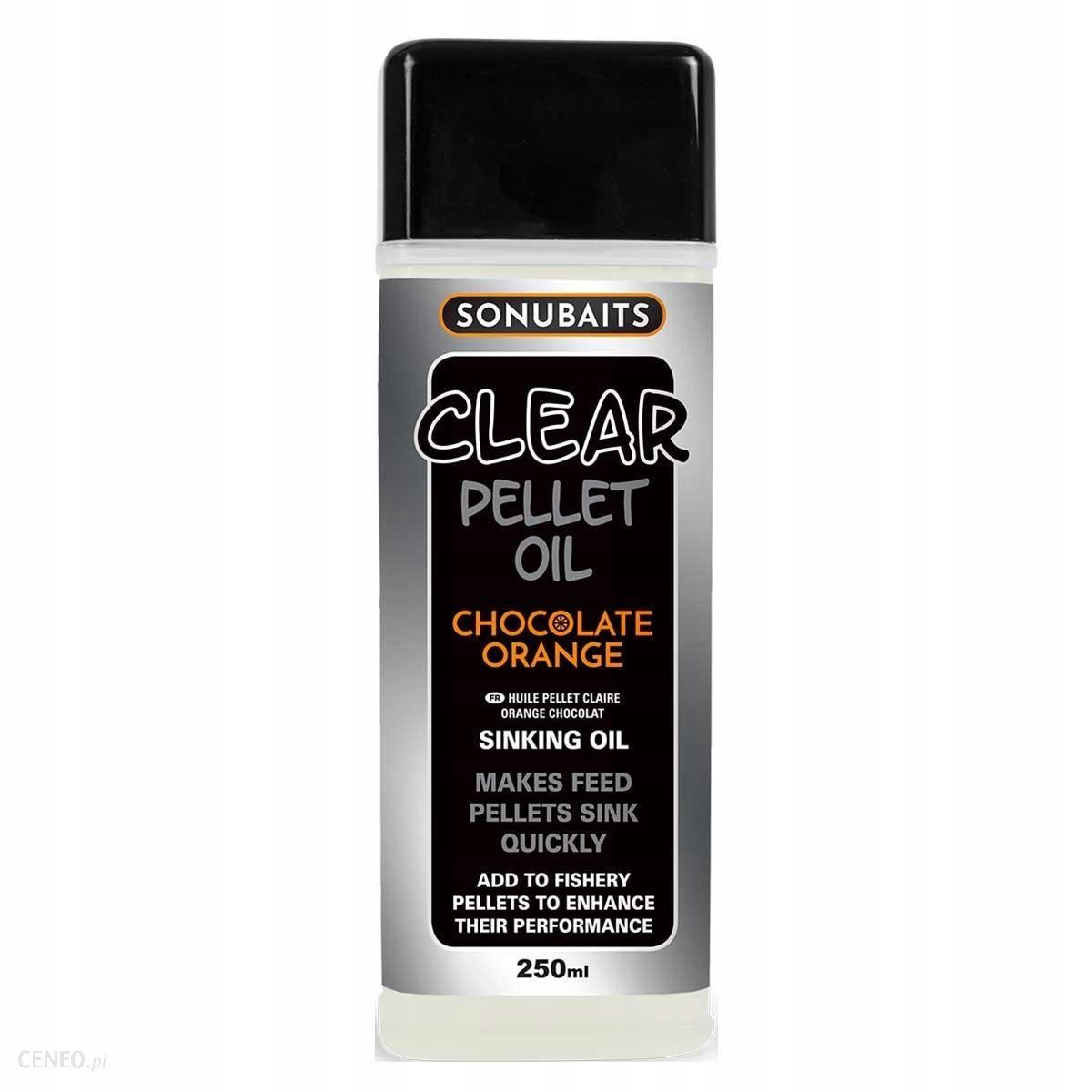 Sonubaits Clear Pellet Oil Chocolate Orange 250ml