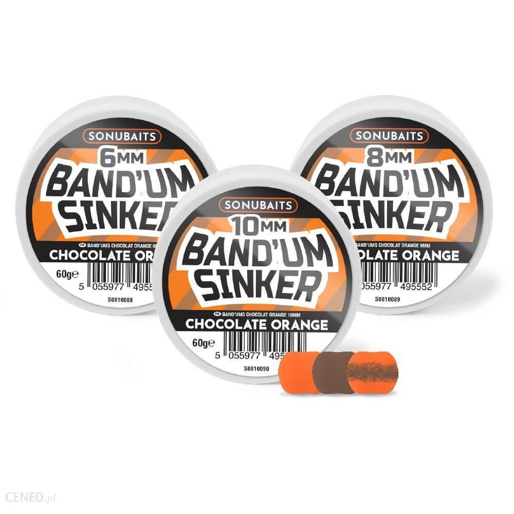 Sonubaits Pellet Band'Um Sinkers Chocolate Orange 8Mm