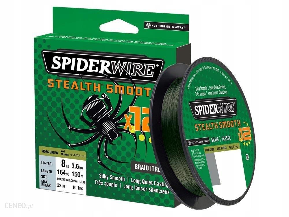 Spiderwire Plecionka Stealth 12 Green 0.19mm/150m