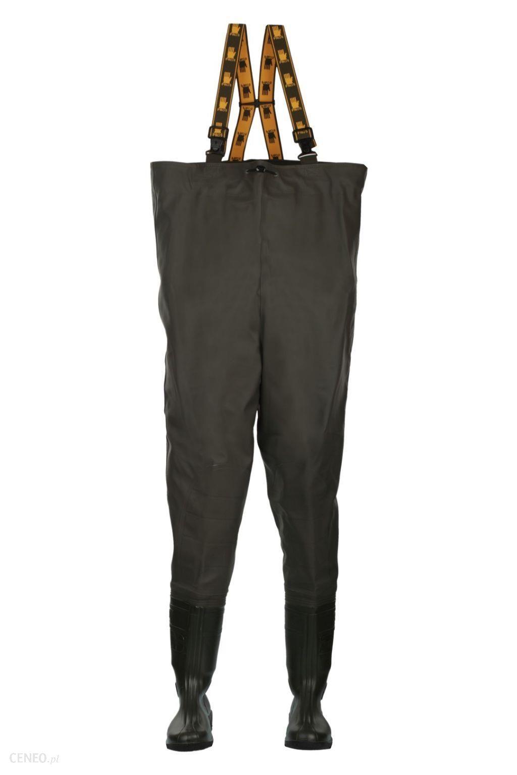 Spodniobuty Wodery dla Wędkarza na Ryby Pros r.46