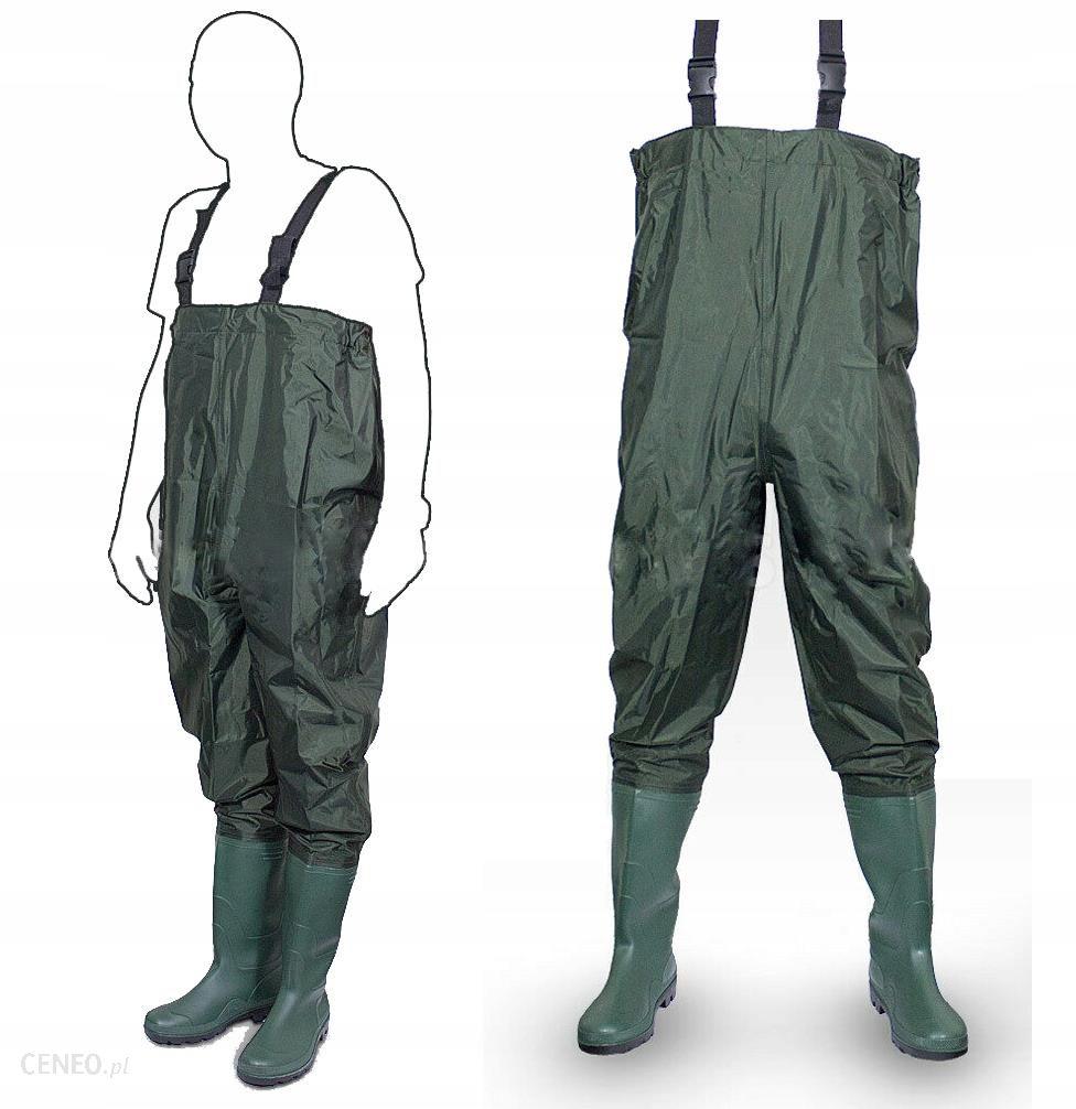 Spodniobuty Wodery Spodnie Wędkarskie Rozmiar 39