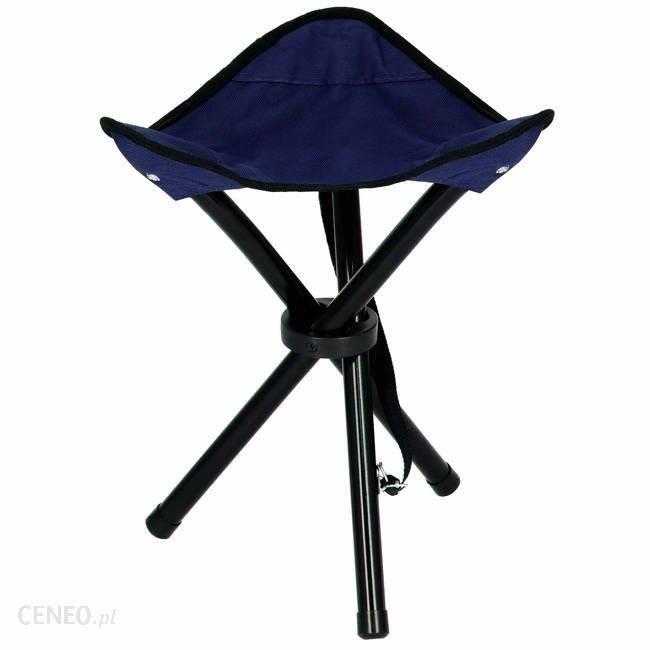 Springos Krzesło Składane Trójkątne Granatowe