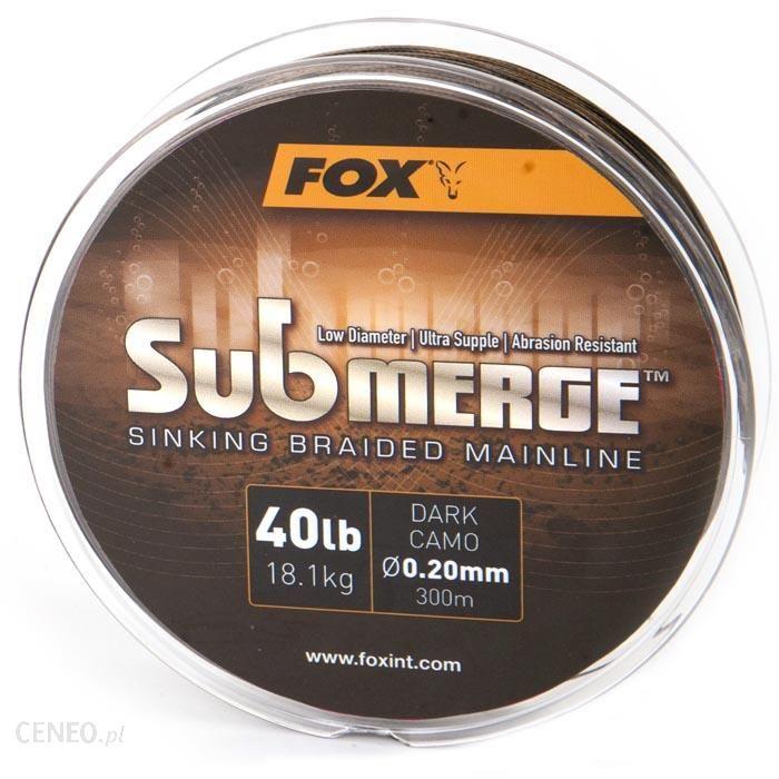 Submerge Plecionka Mainline Fox Dark Camo 25lb300m