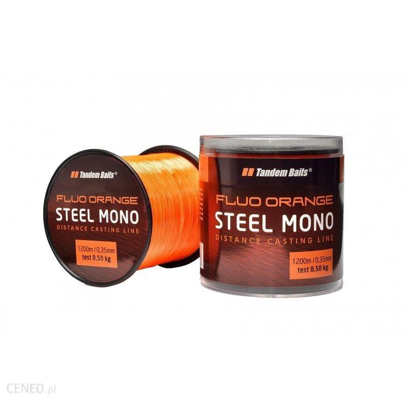 Tandem Baits Żyłka Steel Mono Fluo Pomarańczowy 600M/0.30Mm 03015