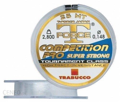 Trabucco Żyłka T Force Competition Pro 0.160Mm 25M