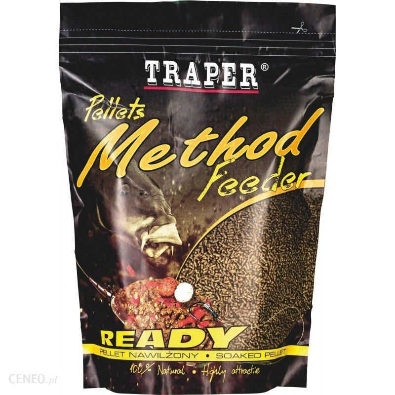 Traper Method Feeder Pellet Ready 2Mm 500G Ananas