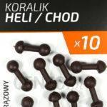 Undercarp Koralik Heli/Chod Brązowy