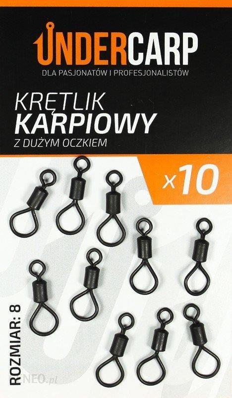 Undercarp Krętlik Karpiowy Z Dużym Oczkiem Nr 8