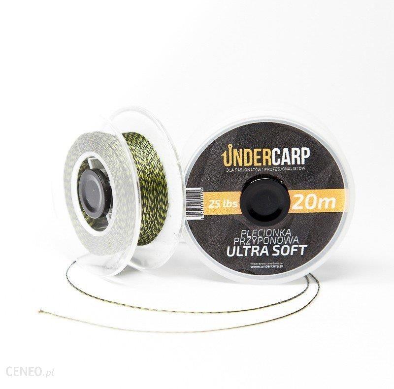 Undercarp Plecionka Przypon 20M/25Lbssoft Zielona