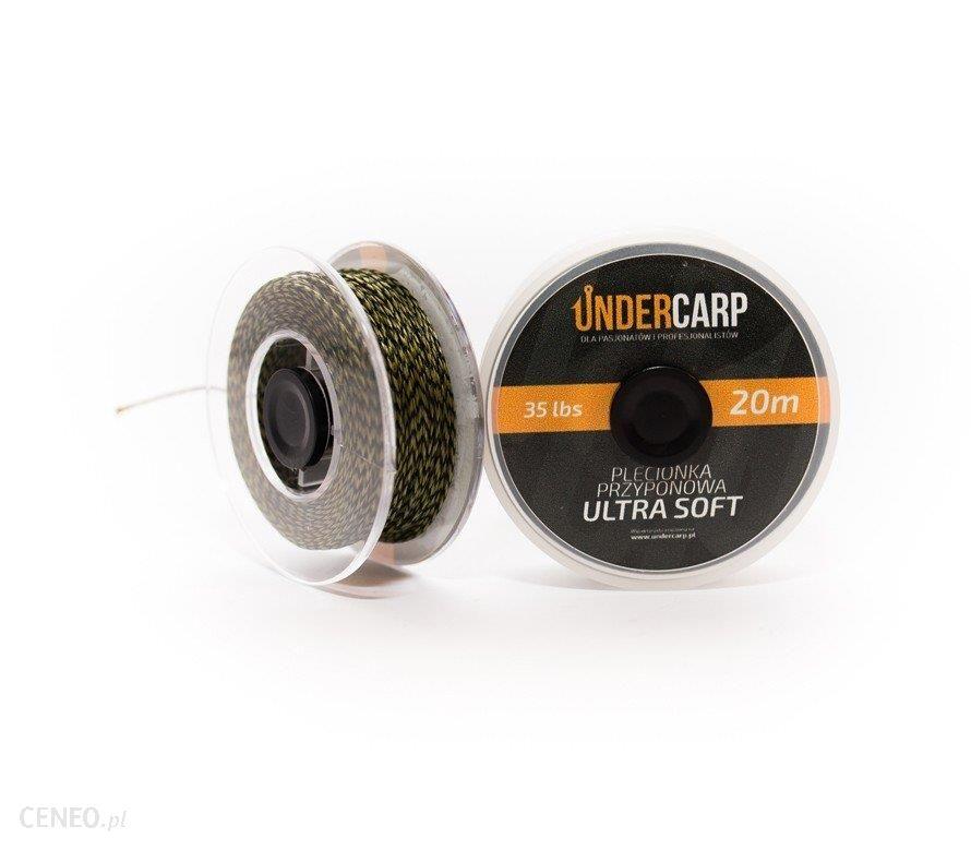 Undercarp Plecionka Przypon 20M 35Lbs Soft Zielona