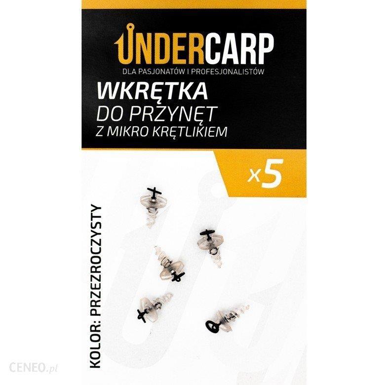 Undercarp Wkrętka Do Przynęt Z Mikro Krętlikiem Przezroczysty