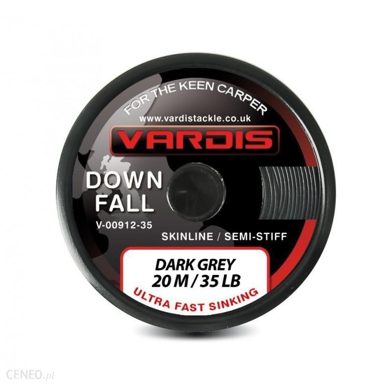 Vardis Down Fall Semi Stiff Plecionka Półsztywna W Otulinie Dark Grey 15Lbs