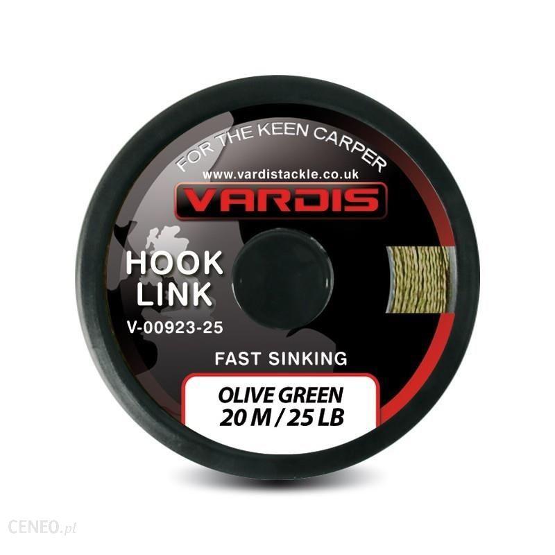 Vardis Hook Link Fast Sinking Olive Green 25Lbs