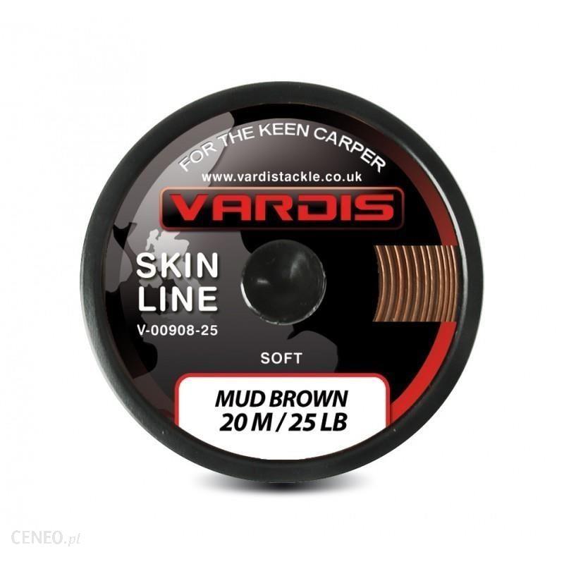 Vardis Skin Line Soft Miękka Plecionka W Otulinie Mud Brown