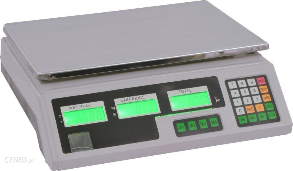 Vidaxl Waga Cyfrowa Do 30Kg Z Akumulatorem