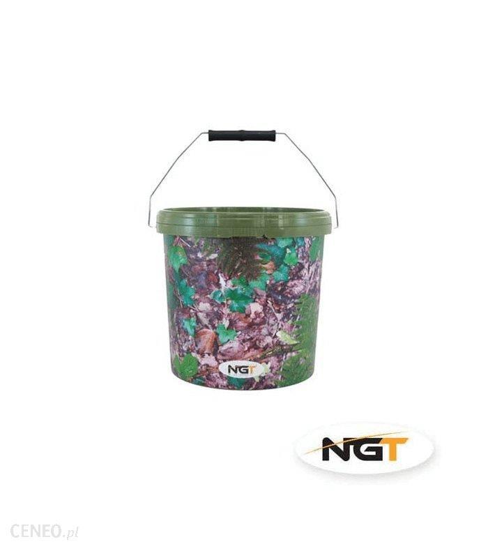 Wiadro Plastikowe Camo Z Przykrywka 10L Ngt