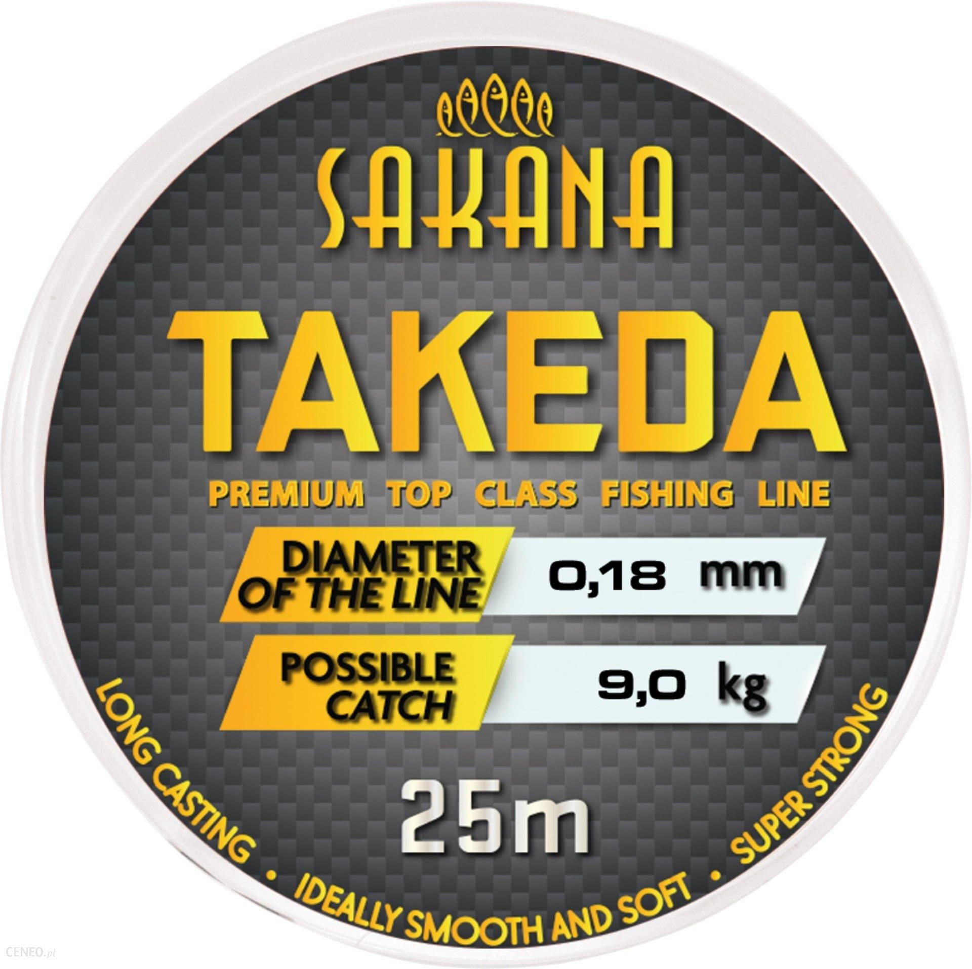 York Żyłka Sakana Takeda 0.20Mm 25M