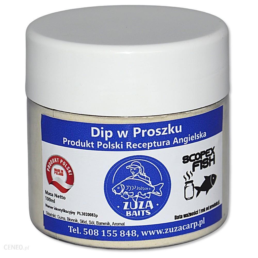 Zuza Carp Dip Scopex Fisch (W Proszku) 150Ml