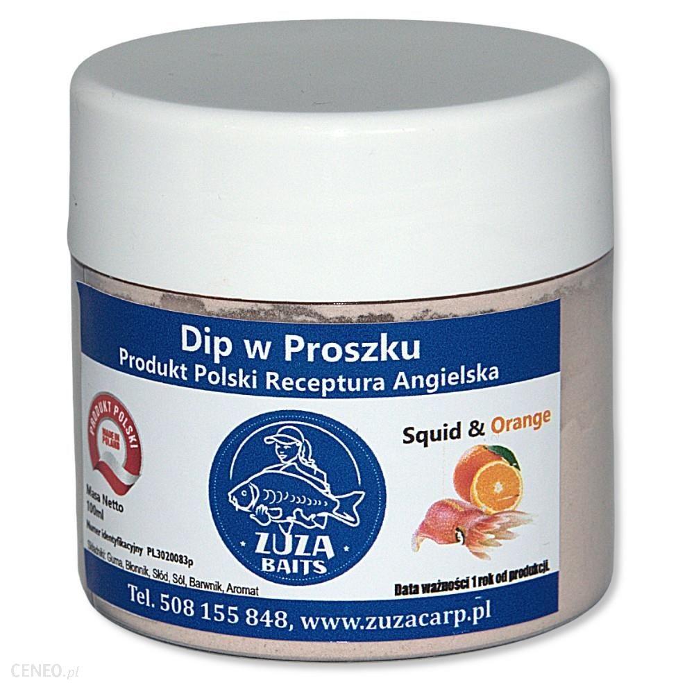 Zuza Carp Dip Squid & Orange (W Proszku) 150Ml